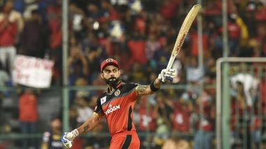 Virat Kohli Misses Century in RCB vs KKR IPL 2019 Clash, But Overtakes Suresh Raina to Become Highest Run Scorer in Indian Premier League