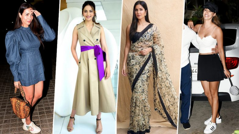 Katrina Kaif, Malaika Arora and Rakul Preet Singh are our Best-Dressed Celebs of This Week - View Pics