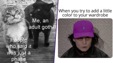 World Goth Day 2019: Funny and Dark Goth Memes, Jokes and GIFs That Will Brighten Your Lives!