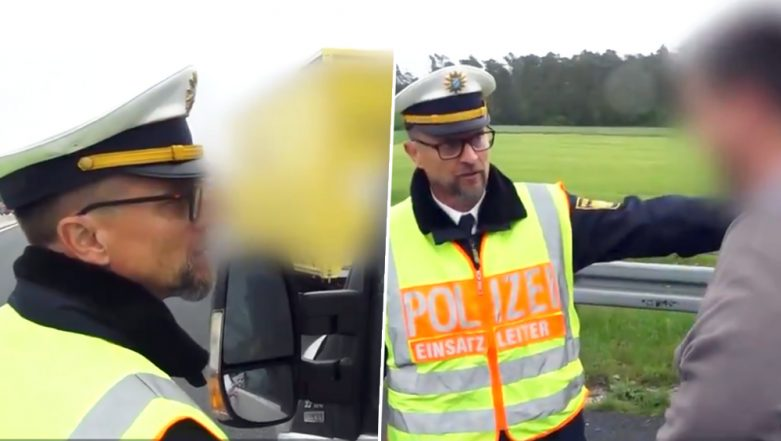 'You Want to See Dead People?' Viral Video Shows German Police Schooling Drivers Taking Videos of a Fatal Autobahn Crash