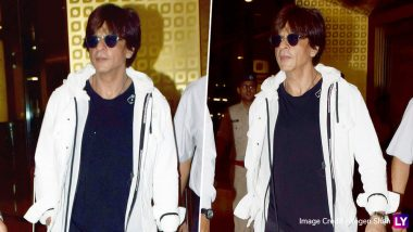Shah Rukh Khan Is Back From New York and Already Stealing Hearts With His Cool Swag – View Pics