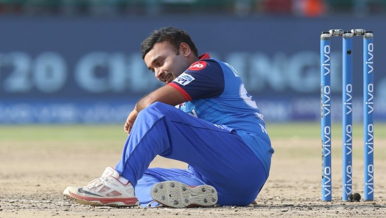 IPL 2019: Amit Mishra Becomes 2nd Player to Get Out for Obstructing the Field in IPL History