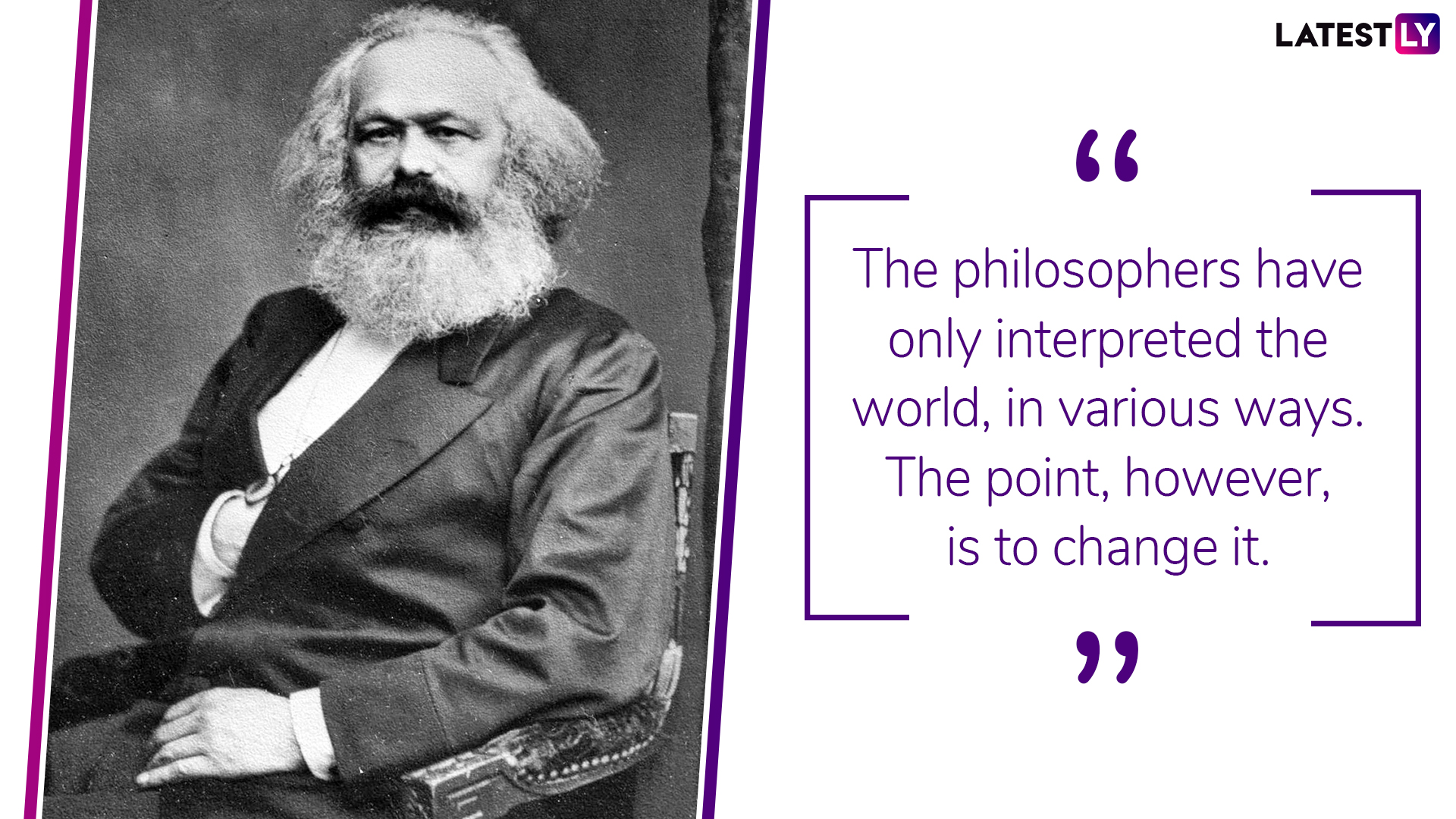 A quote by Karl Marx. (Photo Credit: File Image)