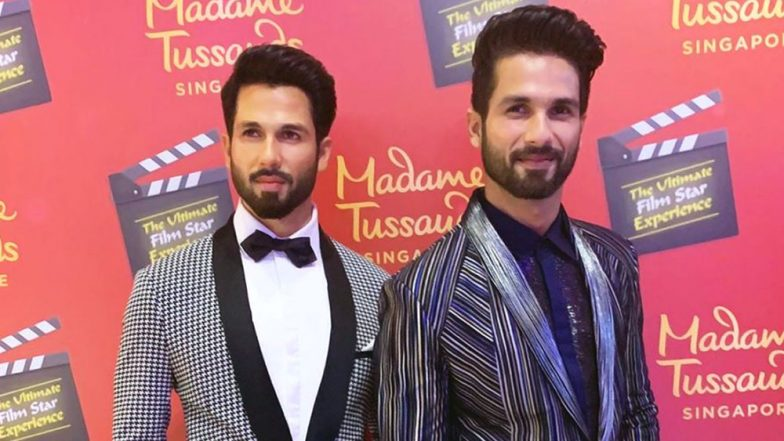 Shahid Kapoor is 'Twinning' With His Wax Statue at Madame Tussauds Singapore - View Pic!
