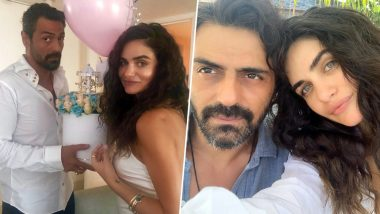 Arjun Rampal Throws Baby Shower Party For Girlfriend Gabriella Demetriades