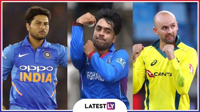 Spinners at ICC Cricket World Cup 2019: Kuldeep Yadav, Rashid Khan, Nathan Lyon and Others Who Can Spin Webs on Batsmen