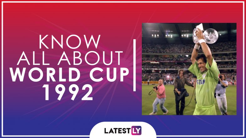 Know All About 1992 Cricket World Cup History Participants