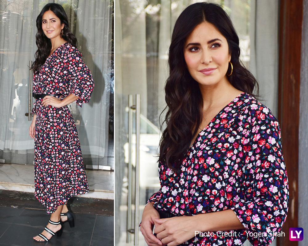 Katrina Kaif's perfect summer look for Bharat promotions.