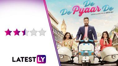 De De Pyaar De Movie Review: Tabu Towers Over Ajay Devgn and Rakul Preet in This Unusual Romcom