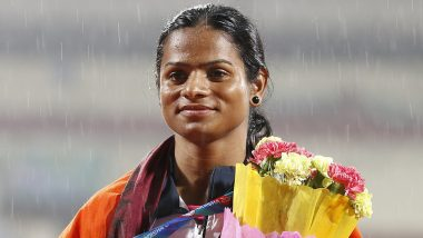 Dutee Chand Wins Gold Medal at World Universiade; PM Narendra Modi, Kiren Rijiju & Others Congratulate the Indian Star Sprinter