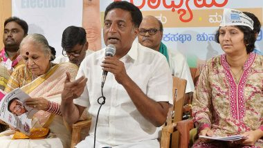 Prakash Raj Loses from Bengaluru Central Lok Sabha Constituency in Karnataka, Says 'A Solid Slap on My Face'