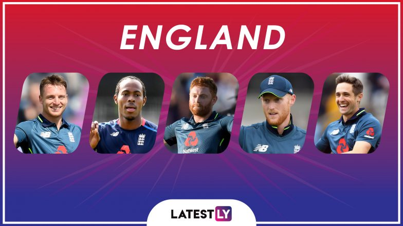 ICC Cricket World Cup 2019: Jofra Archer, Jos Buttler and Other Key Players in the England Team for CWC