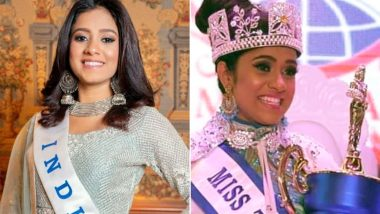 Sushmita Singh Becomes First Indian to Win Miss Teen World 2019, Makes India Proud! (Check Videos and Pictures of the Teenage Beauty)