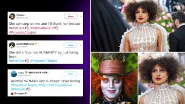 Met Gala 2019 Priyanka Chopra's Look: Funny Desi Memes and Jokes Take Over the Internet Amidst All the Praises for Nick Jonas' Queen