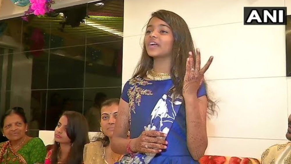 12-Year-Old Girl Khushi Shah From Surat To Take 'Diksha' And