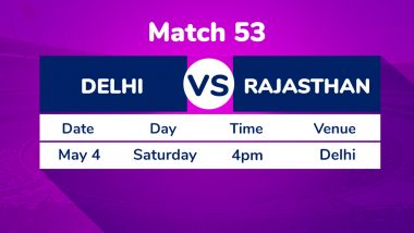 DC vs RR, IPL 2019 Match 53 Preview: Delhi Capitals Look to Seal Top Spot in Playoff Against Rajasthan Royals