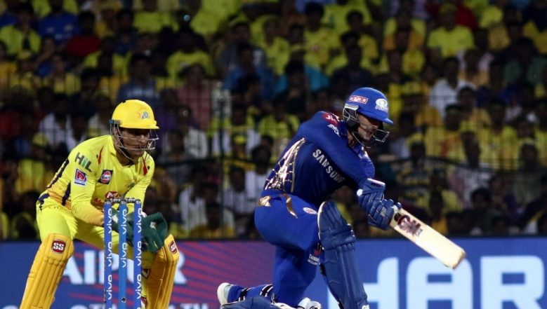 MI vs CSK, Qualifier 1 Stat Highlights: Mumbai Indians Register Comprehensive Win Over Chennai Super Kings, Qualify for IPL 2019 Finals