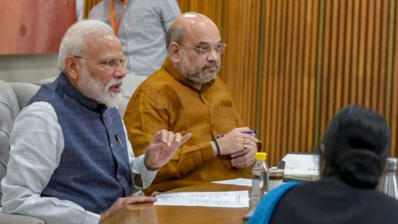 100 Days of Modi Government 2.0: Amit Shah Lauds PM's Decisive Leadership, Cites Article 370 Repeal, Triple Talaq Ban, UAPA Amendment