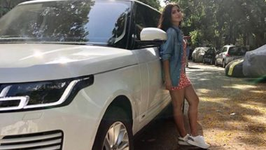 Katrina Kaif Flaunts Her New Range Rover Car, Shows Off Driving Skill