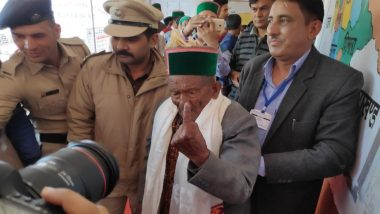 Lok Sabha Elections 2019 Phase 7: 102-Year-Old Voter Casts Ballot in Himachal Pradesh