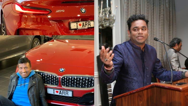 AR Rahman's Fan Dedicates His Dream Car to Him, See Reply From Maestro
