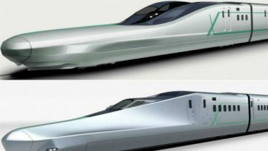Japan Tests World's Fastest Bullet Train 'ALFA-X Shinkansen'