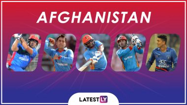 ICC Cricket World Cup 2019: Rashid Khan, Mohammad Nabi and Other Key Players in the Afghanistan Team for CWC