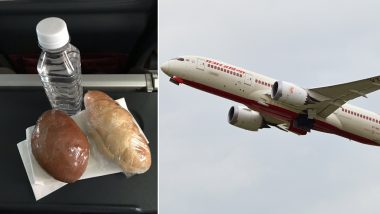 Muslim Flier on Air India Flight Asked For a Bottle of Water, Air Hostess Returned With Iftar Meal! Twitter Says 'Humanity Restored'