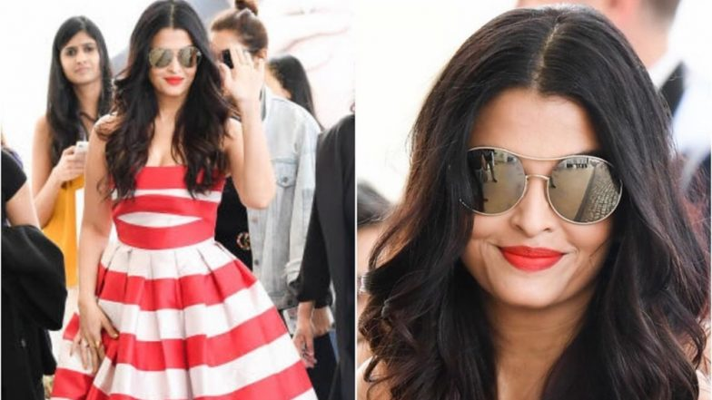 Cannes 2019: Aishwarya Rai Bachchan's Candy Floss Inspired Gown by Leal Daccarett Is a Complete Ten on Ten! (View Pics)