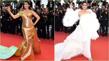 Aishwarya Rai Bachchan at Cannes 2019: The Actress' Red Carpet Outing Was All About Drama and Some More Drama
