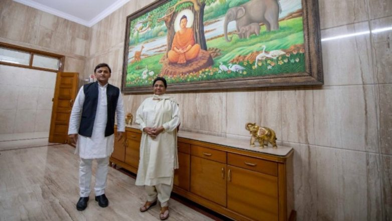 Akhilesh Yadav Meets Mayawati, Says 'Getting ready for next step' Post-Exit Poll Results