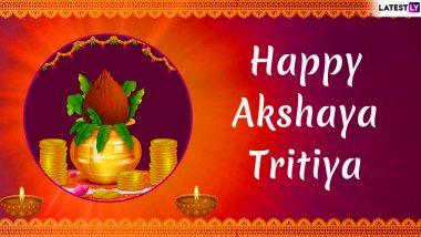 Akshaya Tritiya Greetings: WhatsApp Messages, Images, SMS, Quotes to Wish Happy Akha Teej
