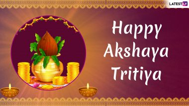Akshaya Tritiya 2019 Greetings: WhatsApp Stickers, GIF Image Messages, SMS to Wish on Akha Teej