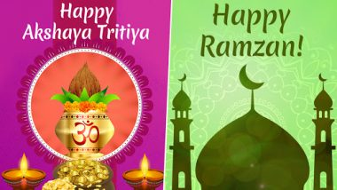 Akshaya Tritiya and Ramzan 2019: Auspicious Tuesday in India as Hindus and Muslims Celebrate Akha Teej And Ramadan