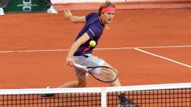 Alexander Zverev vs Tallon Griekspoor Live Streaming Online: How to Watch Free Live Telecast of Men's Singles Tennis Match in India?