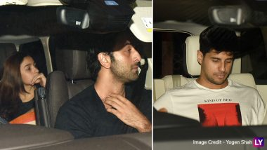 Ranbir Kapoor, Alia Bhatt and Sidharth Malhotra Party Under One Roof, Thanks To Karan Johar! (View Pics)
