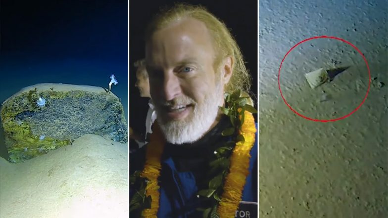 Plastic Pollution Reaches Deepest Place on Earth! American Explorer Finds Plastic Litter on His Record-Breaking Dive to Mariana Trench (Watch Video)