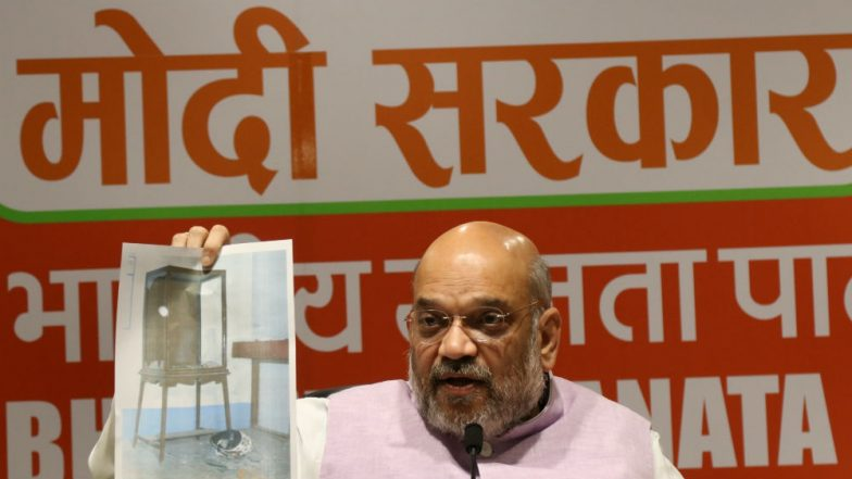 Amit Shah Blames TMC For Violence During His Roadshow in West Bengal, Says 'Managed to Escape Thanks to CRPF'