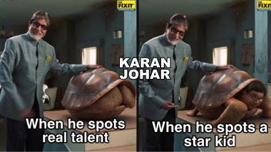 Amitabh Bachchan Provides Giant Tortoise-Size Memes With His Latest Advertisement, Check Funny Tweets