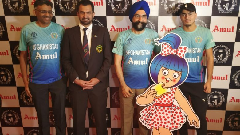 Amul Named As Afghanistan Cricket Team's Sponsor for ICC Cricket World Cup 2019