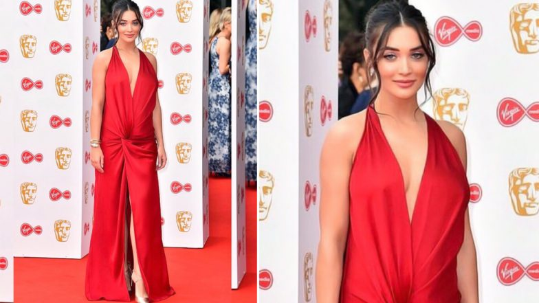 BAFTA TV Awards 2019: Amy Jackson Looks Divine as She Proudly Flaunts her Baby Bump on the Red Carpet - View Pic