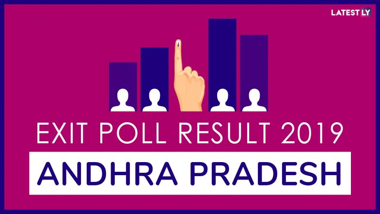 Andhra Pradesh Exit Poll Results For Lok Sabha Elections 2019: YSRCP to Win 18-20 Seats, TDP 9-10, BJP and Congress Fail to Open Account