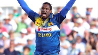 After Sri Lanka's Win Over West Indies, Skipper Dimuth Karunaratne Praises Angelo Mathews For Getting Crucial Wicket of Nicholas Pooran