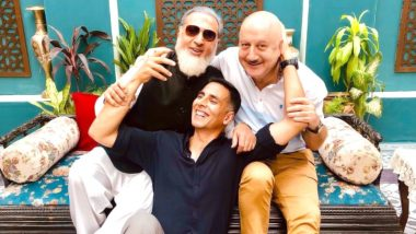 Akshay Kumar's Happy Shiny People Anupam Kher and Gulshan Grover walk us down to the 90s nostalgia - view pic