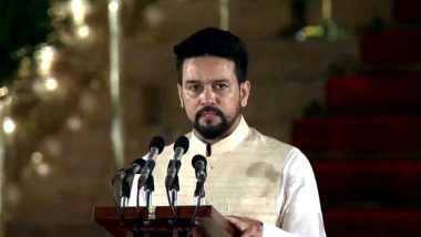 Anurag Thakur Takes Oath As Union Minister in PM Narendra Modi's Cabinet