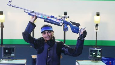 ISSF World Rankings: Ace India Shooter Apurvi Chandela Becomes World Number 1 in 10m Air Rifle