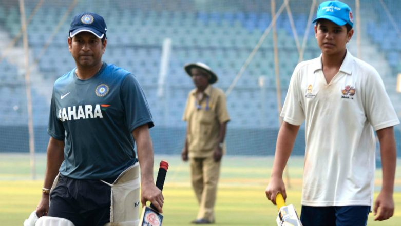 T20 Mumbai League: Sachin Tendulkar's Arjun Picked For Rs 5 lakh by Aakash Tigers Mumbai Western Suburb