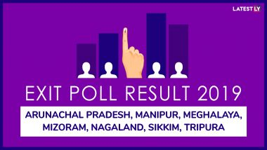 Exit Poll Results Of Lok Sabha Elections 2019 For All Constituencies of Arunachal Pradesh, Manipur, Meghalaya, Mizoram, Nagaland, Sikkim and Tripura