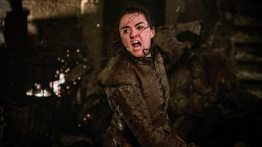 Arya Stark Challenge That Mimics Game of Thrones Assassin's Bad Ass Knife Move on The Night King Takes Over Social Media