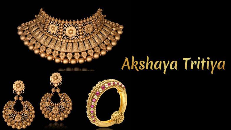 Akshaya Tritiya 2019: Planning to Buy Gold? 10 Jewellery Inspirations For This Akha Teej